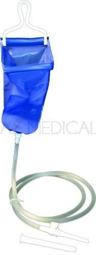 Bock à lavement souple - Set canules, robinet et tuyau