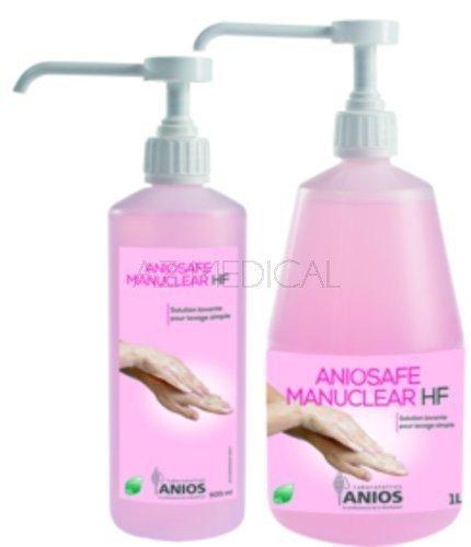 Aniosafe Manuclear HF - Le flacon pompe de 500 ml parfumé et coloré