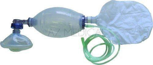 Insufflateur réutilisable silicone - Enfant + réservoir O² + Masque T3