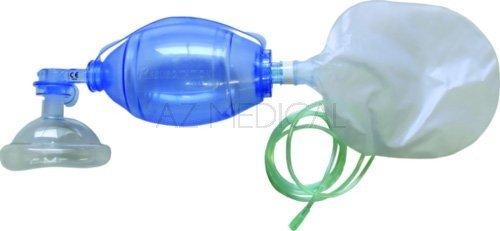 Insufflateur à usage unique - Adulte + réservoir O² + Masque T5