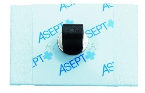 Electrodes prégélifiées mousse contact métal - 900 rectangulaires