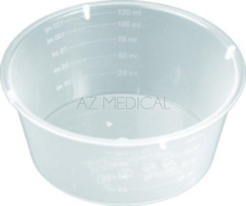 Cupule polypropylène - Contenance 120 ml