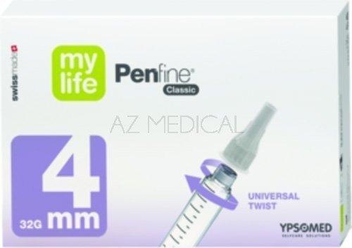 Aiguilles à stylo Penfine® Classic - La boîte de 100 - 4 mm 32G