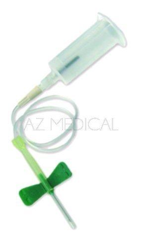 Unités de prélèvement Safety-Lok™ BD Vacutainer® - 50 vertes - 21G 3/4 - L 19 mm x 8/10 - tub 178 mm