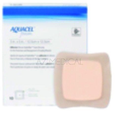AQUACEL™ Foam Adhésif - La boîte de 10, dim 20 x 16,9 cm (petit sacrum)