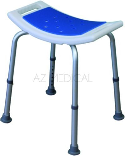 Tabouret Blue Seat Eco - Fixe H 39-54 cm avec assise rectangulaire incurvée
