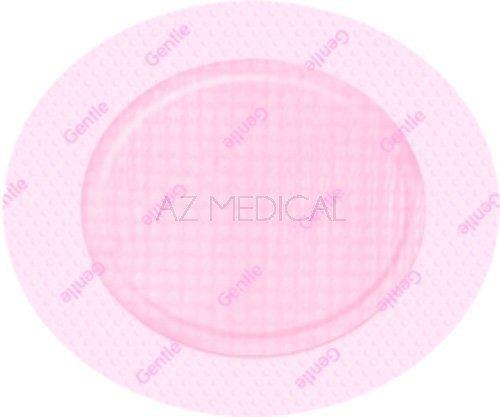 ALLEVYN™ Gentle Border Lite - La boîte de 10 pansements ovales dim 8,6 x 7,7 cm