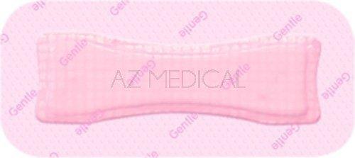 ALLEVYN™ Gentle Border Lite - La boîte de 10 pansements rectangulaires dim 5,5 x 12 cm