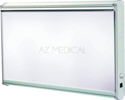 Négatoscope Bas'X et Med'X - Tubes fluorescents droits, plages étendues uniquement