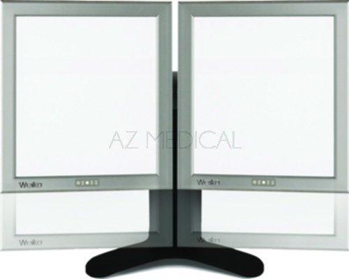 Négatoscope Extra plat LED Weiko - 2 écrans dim 36 x 43 cm sur pied