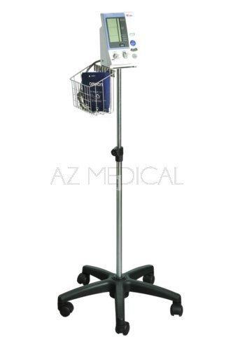 Hospitalier 907 - Le pied à roulettes avec panier