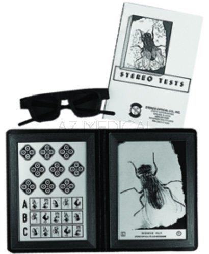 Test de la mouche - La paire de lunettes