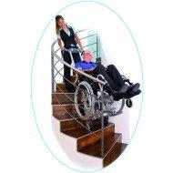 Monte-escalier Scalamobil® - Kit Powerstroll P9, 150 W, pour tierce-personne.