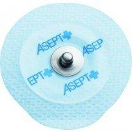 Electrodes prégélifiées textile contact métal - Dim 45 x 42 mm