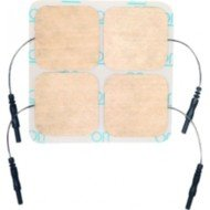 Electrodes autocollantes Stimex - Rectangulaires, dim. 50 x 90 mm.