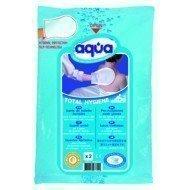 Gants de toilette à usage unique Aqua - Gants Total Hygiène pour la toilette corporelle