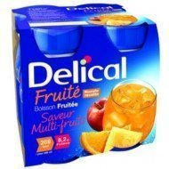Delical Boisson Fruitée HC - Multi-fruits