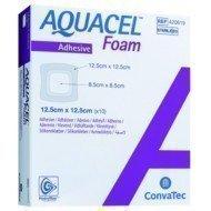 Pansement hydrocellulaire épais AQUACEL® Foam Adhésif - La boîte de 10, dim. 8 x 13 cm.