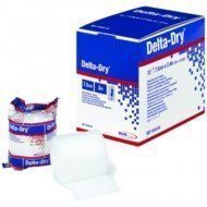Rembourrage orthopédique Delta-Dry® - 3M™ Coban™ dim. 2,5 cm x 4,5 m (longueur étirée).