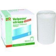 Bande de compression élastique adhésive Velpeau® strapp* - Dim. 5 m x 4 cm.