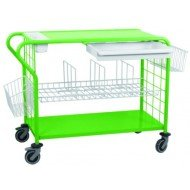 Chariot de change - Le chariot classic ouvert, livré avec un tiroir coulissant