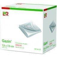 Compresses de gaze Gazin®* - 8 plis, dim. 7,5 x 7,5 cm.