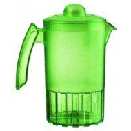 Pichets copolyester - Le pichet vert avec couvercle 1,5 litre