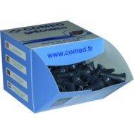 Spéculums auriculaires - La boîte de 250 spéculums noirs Ø 2,5 mm