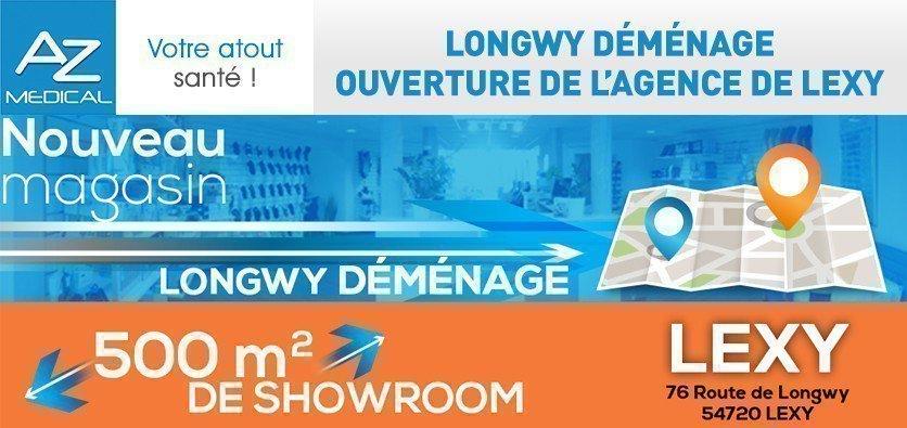 L'agence de Longwy déménage pour Lexy