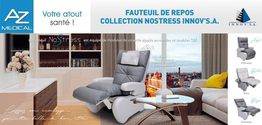 Fauteuil de repos collection NOSTRESS d'INNOV'SA